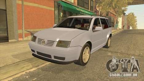 Volkswagen Jetta Wagon para GTA San Andreas