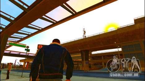 Calça jeans jaqueta Trevor de GTA V para GTA 4 terceira tela