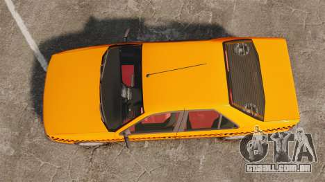 Peugeot 405 GLX Taxi para GTA 4 vista direita