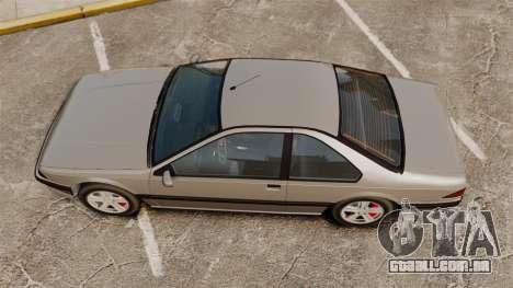 Fortuna com novos discos para GTA 4 traseira esquerda vista