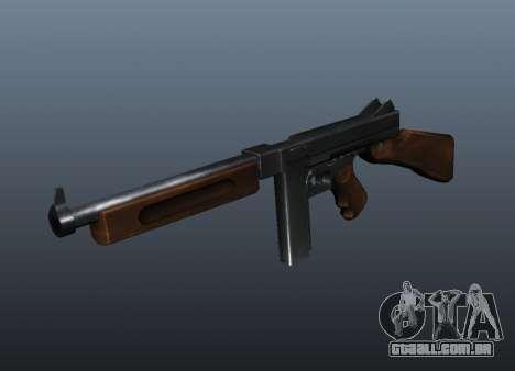 V1 de metralhadora M1a1 Thompson para GTA 4