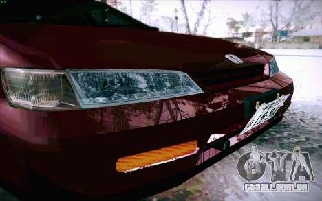 Honda Accord Wagon para GTA San Andreas vista superior