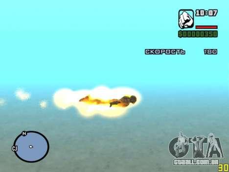 Voar ao redor de homem de ferro para GTA San Andreas