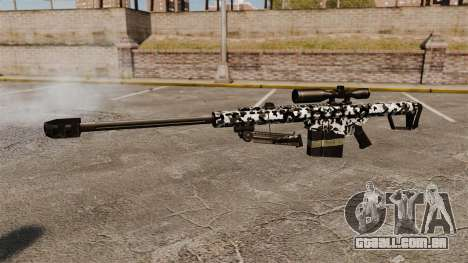 O Barrett M82 sniper rifle v16 para GTA 4 terceira tela
