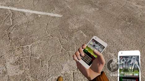Teclado Samsung Galaxy S2 para GTA 4 terceira tela