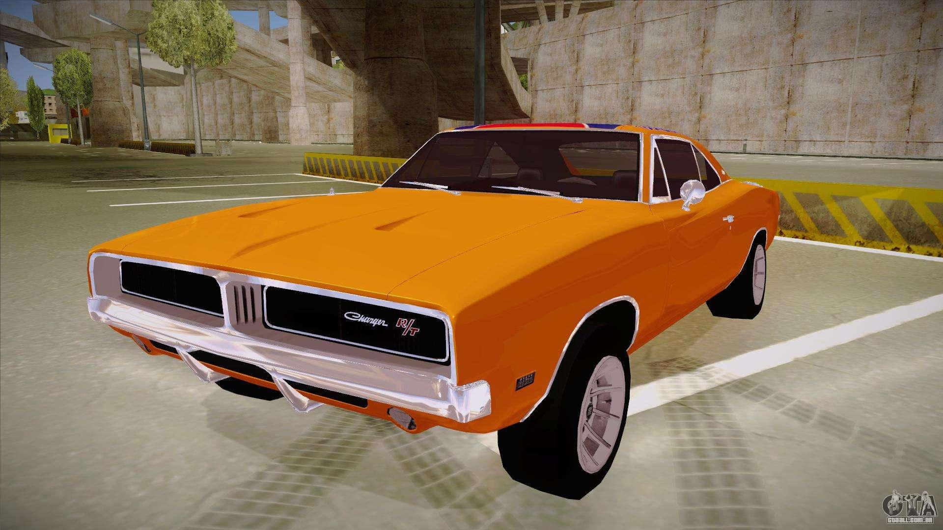 Dodge Charger 1969 General Lee Para Gta San Andreas