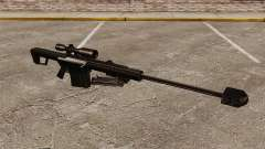 O Barrett M82 sniper rifle v2 para GTA 4