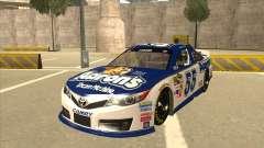 Toyota Camry NASCAR No. 55 Aarons DM white-blue