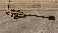 O Barrett M82 sniper rifle v10