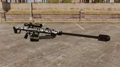 O Barrett M82 sniper rifle v16