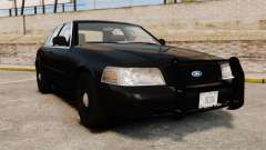 Ford Crown Victoria 2008 FBI para GTA 4