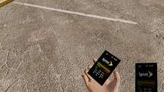 O tema para o telefone Sprint para GTA 4