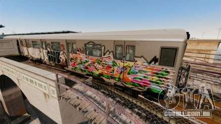 Novo graffiti metrô para v3 para GTA 4