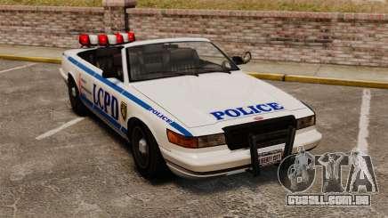 A versão conversível da polícia para GTA 4
