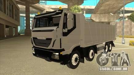 Oi-terra caminhão Iveco para GTA San Andreas