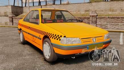 Peugeot 405 GLX Taxi para GTA 4