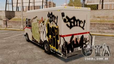 Nova pichação de Boxville para GTA 4