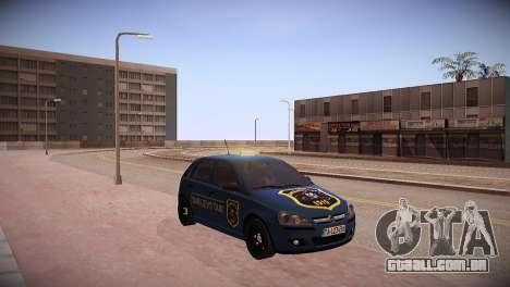 Opel Corsa C 2005 Sarajevo Taxi para GTA San Andreas traseira esquerda vista