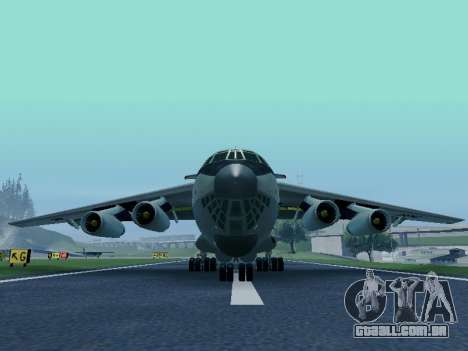 Il-76td v 1.0 para GTA San Andreas esquerda vista