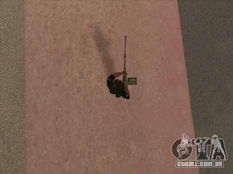 NSVT para GTA San Andreas por diante tela