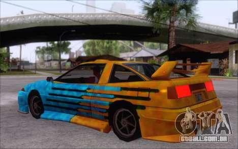 Uranus Fix para GTA San Andreas vista traseira