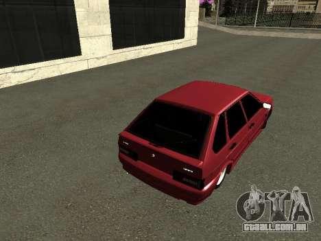 ВАЗ 2114 BPAN para GTA San Andreas vista direita