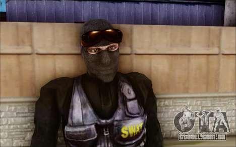 SWAT de Postal 2 para GTA San Andreas segunda tela