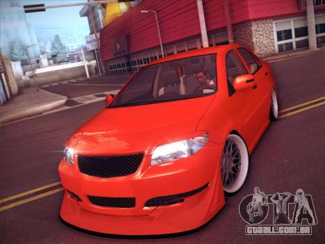 Toyota Vios Modified Indonesia para GTA San Andreas