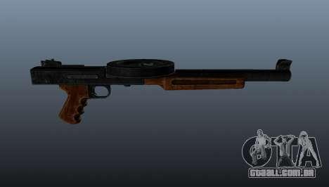 A pistola-metralhadora SMG silenciada para GTA 4 terceira tela