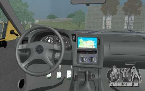 Opel Astra F GSI BBS Style para GTA San Andreas vista direita