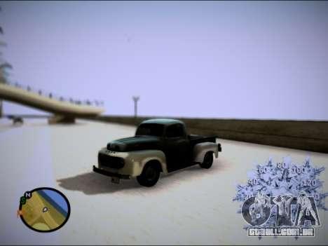 Ford Frieghter 1949 para GTA San Andreas vista traseira