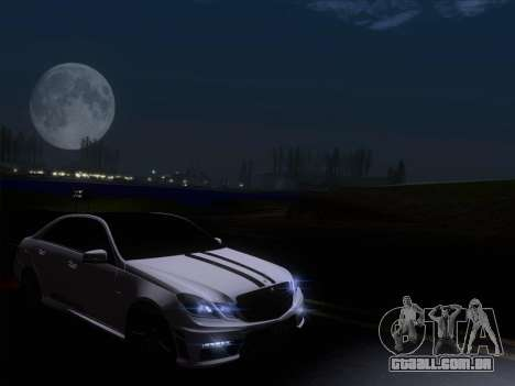 Mercedes-Benz E63 AMG 2011 Special Edition para GTA San Andreas vista inferior