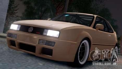 Volkswagen Corrado VR6 1995 para GTA 4 vista lateral