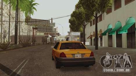 ENB ensolarado para PCs de baixo ou médios para GTA San Andreas terceira tela
