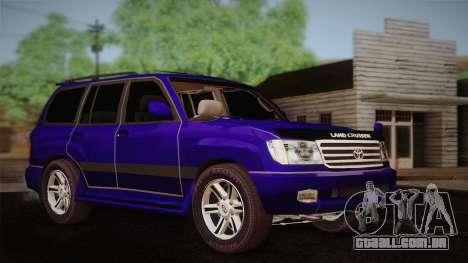 Toyota Land Cruiser 100VX para GTA San Andreas