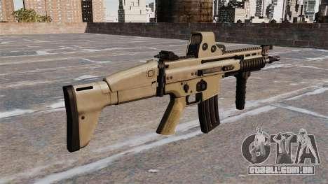 Fuzis de assalto FN SCAR-L para GTA 4 segundo screenshot