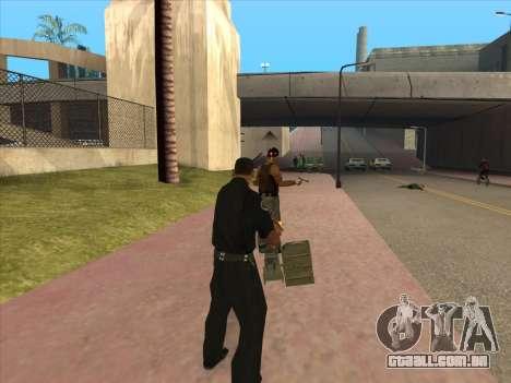 NSVT para GTA San Andreas quinto tela