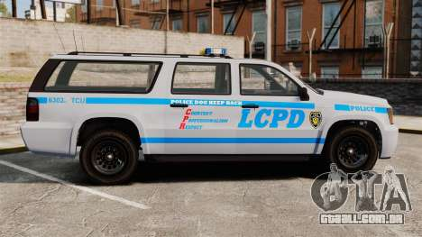 GTA V Declasse Police Ranger 3500PE [ELS] para GTA 4 esquerda vista