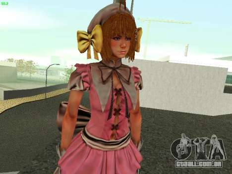 Juliet Starling para GTA San Andreas