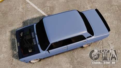 LADA 2107 Time Attack Racer para GTA 4 vista direita
