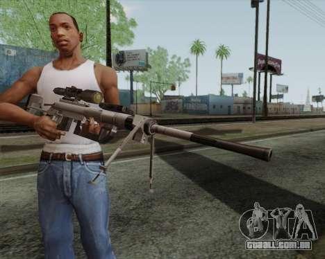 Rifle sniper em chamar de dever MW2 para GTA San Andreas