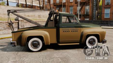 Towtruck Restored para GTA 4 esquerda vista