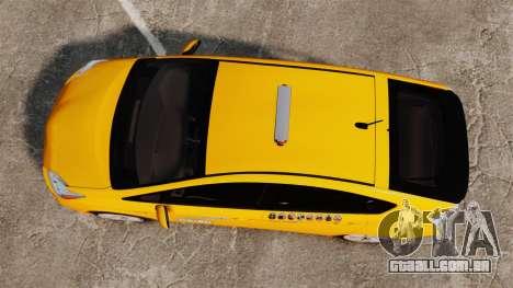 Toyota Prius 2011 Adelaide Independant Taxi para GTA 4 vista direita