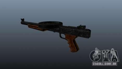 A pistola-metralhadora SMG silenciada para GTA 4 segundo screenshot