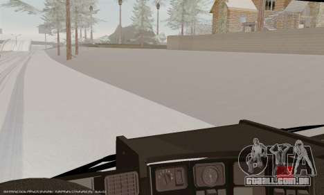 Scania P420 para GTA San Andreas interior