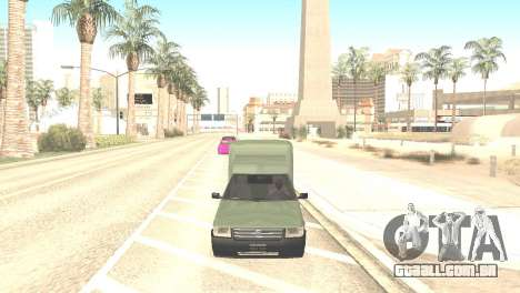 Fiat Fiorino Fire 07 para GTA San Andreas vista direita