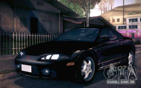 Mitsubishi Eclipse Fast and Furious para GTA San Andreas esquerda vista