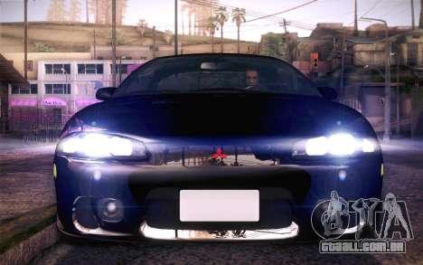 Mitsubishi Eclipse Fast and Furious para GTA San Andreas vista direita
