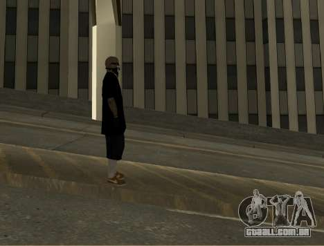 Vagos Skin Pack para GTA San Andreas por diante tela