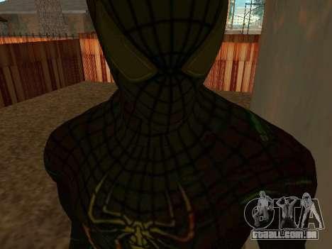 Homem-aranha para GTA San Andreas quinto tela